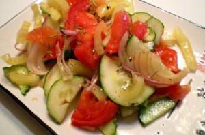 салат с розмарином
