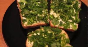 бутерброд-с-зеленью